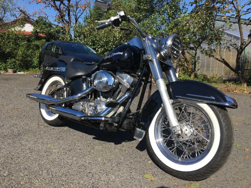 Harley Davidson FLST1450 2006
